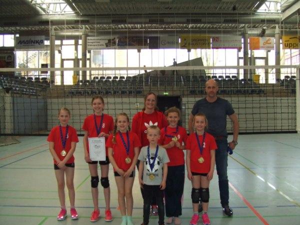 Sieger der U12: SV Union Lohne II